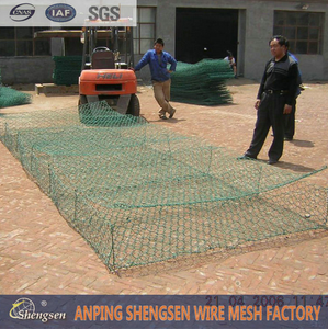 PVC Coated/Galvanized Gabion Basket