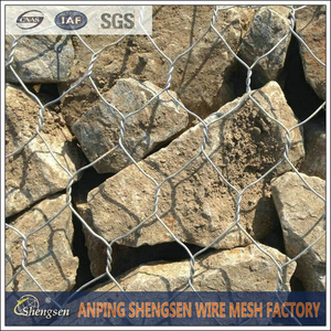 hot dipped galvanized gabion cage