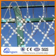 High security Galvanized Concertina Razor Wire