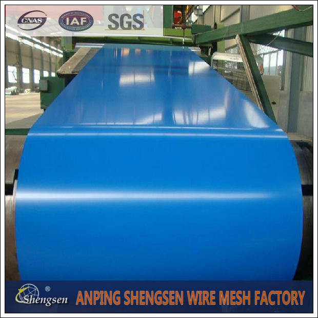PVDF painted Corrugated Roofing Sheet